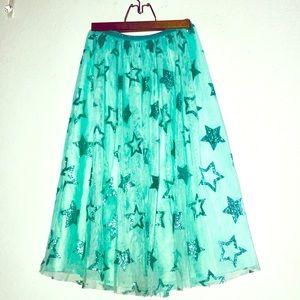 GIRLS adorable tulle Maxi skirt.👩🏻🎤❤️❤️